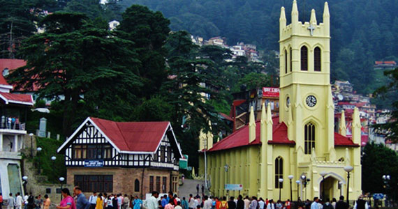 shimla tourism packages from kolkata